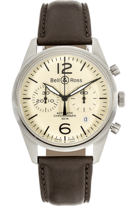 BR 126 Original Beige Stainless Steel Automatic