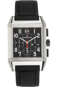 Reverso Squadra Chronograph Stainless Steel Automatic
