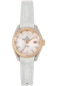 Seamaster Aqua Terra Co-Axial Rose Gold and Stainless Steel Automatic