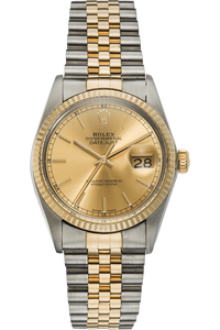 Datejust Circa 1978 Yellow Gold and Stainless Steel Automatic