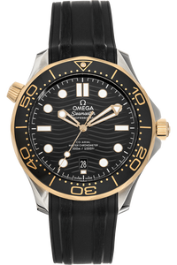 Diver Co-Axial Master Yellow Gold and Stainless Steel Automatic