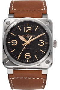 BR03-92 Golden Heritage Stainless Steel Automatic