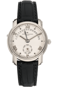 Patrimony 31 Day Retrograde White Gold Automatic