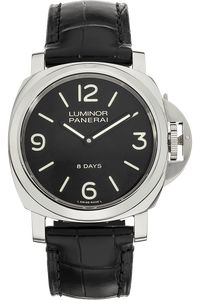 Luminor Base 8 Days Stainless Steel Manual