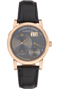 Lange 1  Rose Gold Manual