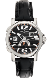 Dual Time Big Date Stainless Steel Automatic