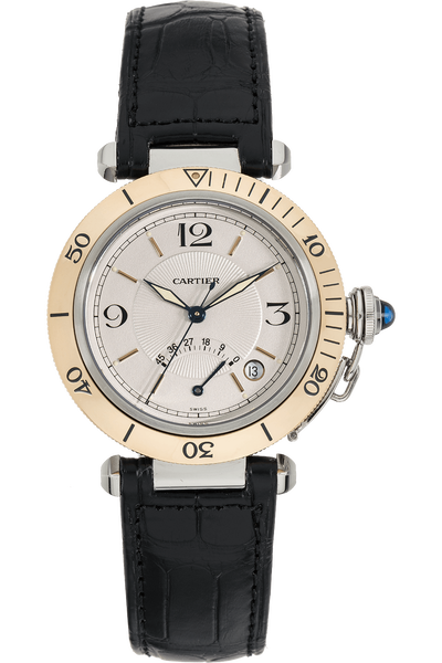 Pasha Power Reserve Yellow Gold and Stainless Steel Automatic