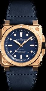 BR 03-92 Diver Bronze Navy Blue