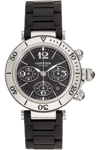 2bd6e809c1c5 Images. Pasha Seatimer Chronograph Stainless Steel Automatic