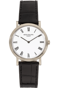 Calatrava Reference 5120 White Gold Automatic