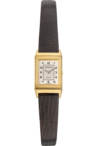 Reverso Yellow Gold Quartz