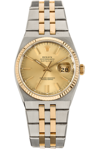 Datejust Circa 1987 Yellow Gold and Stainless Steel Quartz
