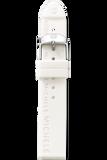 18mm White Silicon Strap