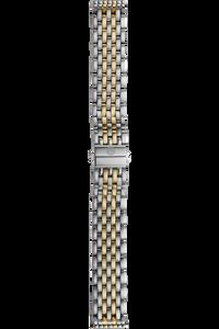 16MM 18K Yellow Gold/Stainless Steel Bracelet