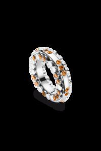 Dizzler Ring in 18K White Gold