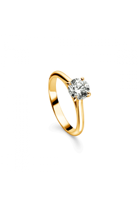 Joy Solitaire in 18K Yellow Gold