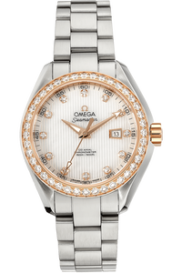 Seamaster Aqua Terra Co-Axial Rose Gold and Stainless Steel