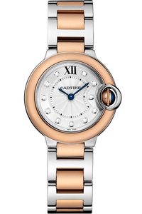 Ballon Bleu Pink Gold and Steel, Small