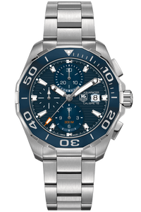 Aquaracer Calibre 16 Automatic Chronograph Ceramic Bezel