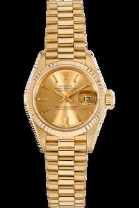 Datejust Circa 1985 Yellow Gold Automatic