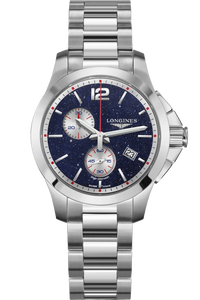 Conquest Chronograph By Mikaela Shiffrin 36mm Stainless Steel