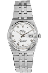 Datejust White Gold and Stainless Steel Quartz