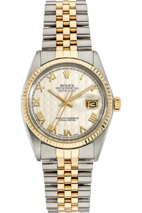 Datejust Circa 1970's Yellow Gold and Stainless Steel Automatic