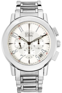 El Primero Port Royal V Chronograph Stainless Steel Automatic