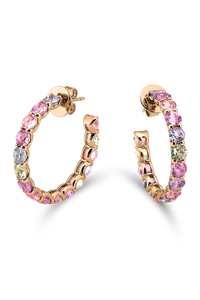 Pastello Ear Pins in 18K Rose Gold