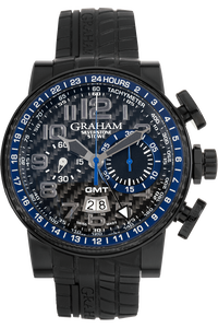 Silverstone Stowe GMT Chronograph PVD Stainless Steel Automatic