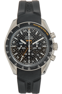 Speedmaster HB-SIA Co-Axial GMT Chronograph Titanium Automatic