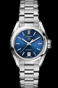 Carrera Calibre 9 Automatic Blue Steel Watch