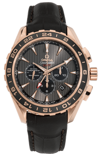 Seamaster Aqua Terra GMT Chronograph Rose Gold Automatic
