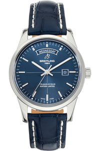 Transocean Day & Date Limited Edition Stainless Steel Automatic
