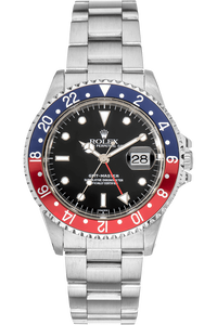 GMT-Master Swiss Dial Lug Holes Stainless Steel Automatic