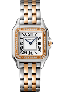 Panthère de Cartier, Rose Gold & Steel,  Medium