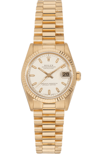 Datejust Circa 1980s Yellow Gold Automatic