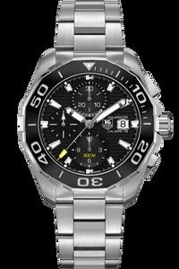 Aquaracer Calibre 16 300M Chronograph – Ceramic Bezel