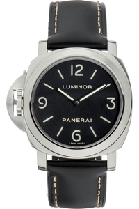 Luminor Base Left-Handed Stainless Steel Manual