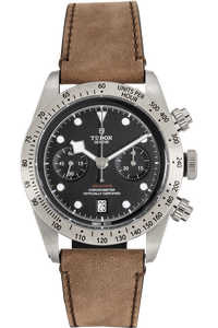 Heritage Black Bay Chronograph Stainless Steel Automatic