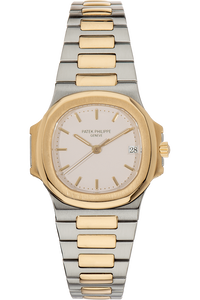 Nautilus Reference 3800 Yellow Gold and Stainless Steel Automatic