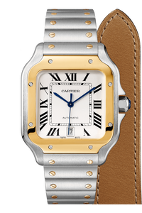 Santos de Cartier Yellow Gold & Steel, Large