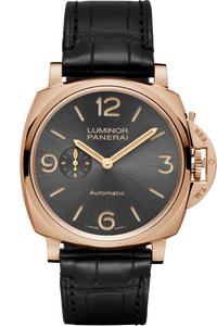 Luminor Due 3 Days Automatic Oro Rosso - 45mm