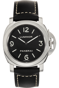 Luminor Base Stainless Steel Manual