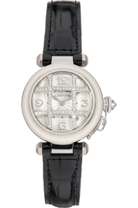 Pasha de Cartier White Gold and Stainless Steel Automatic