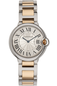 Ballon Bleu Yellow Gold and Stainless Steel Automatic