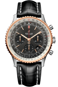 Navitimer 1 B01 Chronograph 43 Steel & Red Gold
