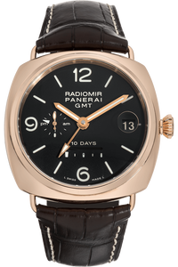 Radiomir 10 Days GMT Rose Gold Automatic