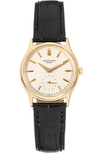 Calatrava Reference 3923 Yellow Gold Manual