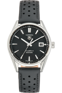 bb7fef8fb73 Pre-Owned TAG Heuer. Carrera Calibre 5 Stainless Steel Automatic